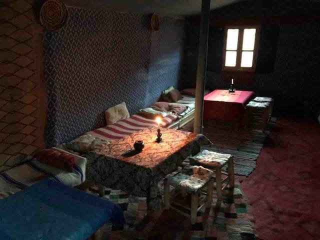 Berber home stay with family