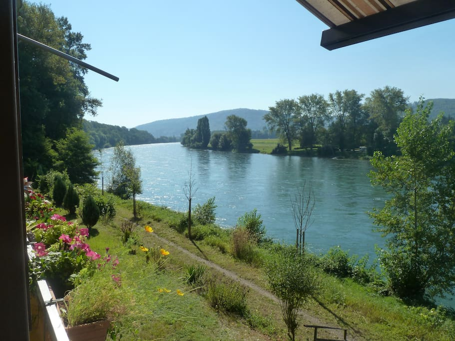 Nice Flat With View Over River Rhein Apartments For Rent In K 252 Ssaberg Rheinheim Baden