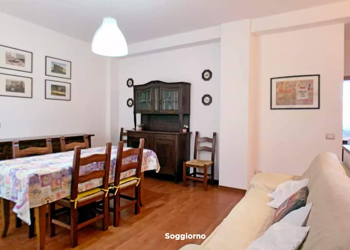 Spacious apartment bright, quiet and comfortable
