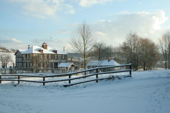 Gîte du Lieu Gaugain - Le Breuil-en-Auge - Отпускное жилье