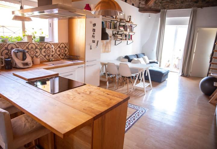 Cozy loft near Barcelona