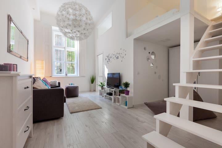 Newly designed flat under Castle