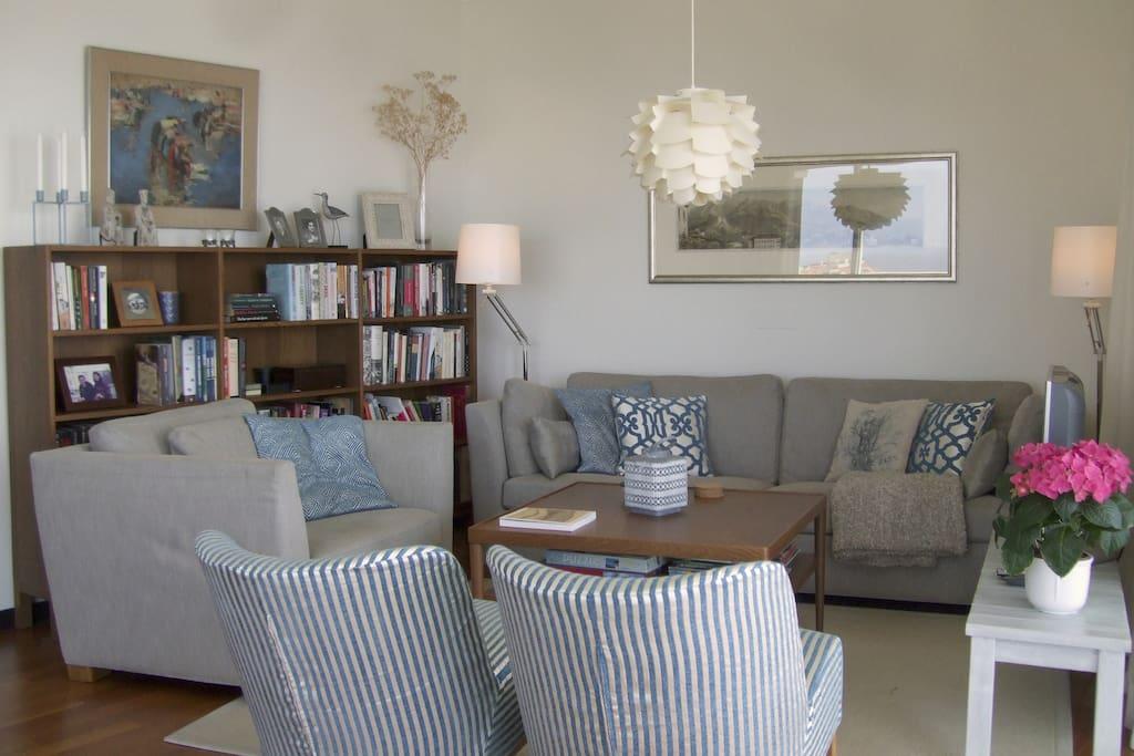 Nice and cosy livingroom. TV and WiFi