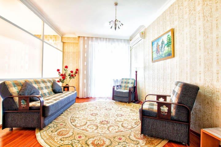 Уютная квартира в ЖК Нурсая, на Левом берегу