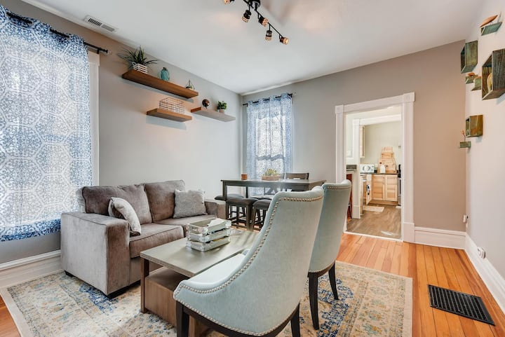 Centrally located  | Classy Victorian Remodel | Parking