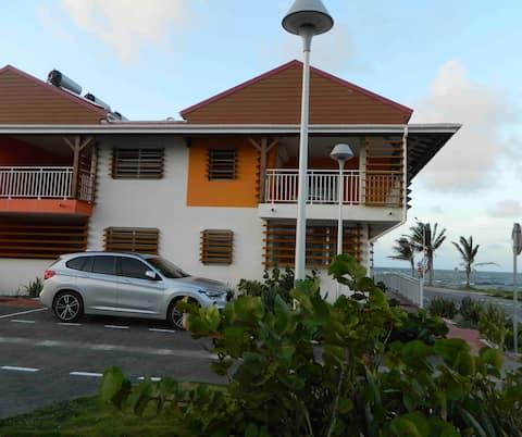 Appartement résidentiel avec vue sur mer