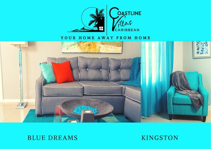 BLUE DREAMS - executive 1 Bddroom Apt