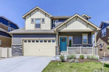 Modern House in a New Neighborhood