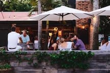 Local cafe - The Roadhouse 2 min walk
