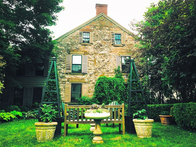 Historic 300 year old stone house.