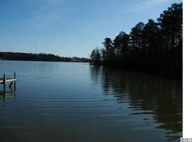 Lakefront Cottage on Lake Tillery - Norwood - Casa