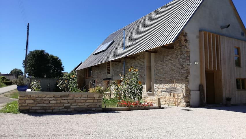 Element Terre - Le Cube BnB - Baudrières - Bed & Breakfast