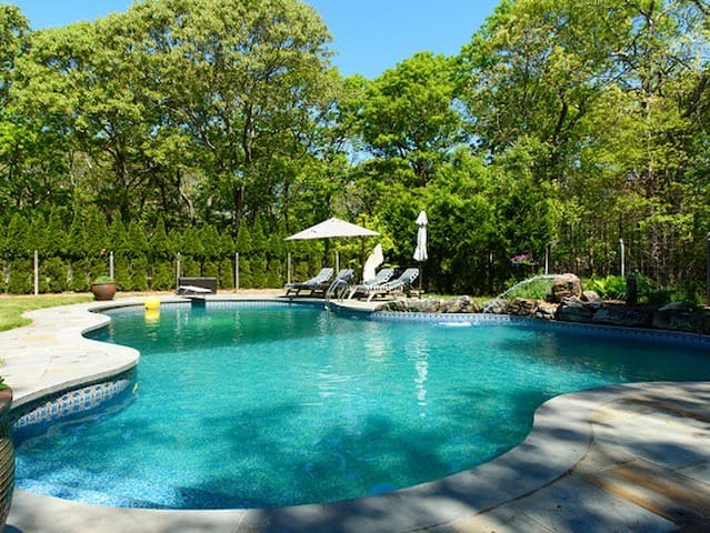 Private East Hampton Home with Pool