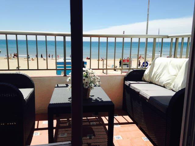 Apartamento Primera Linea de Mar - Tarragona - House