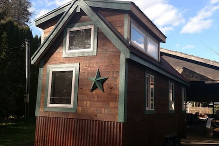 The Green House on South Prairie Creek! - South Prairie - Cabana