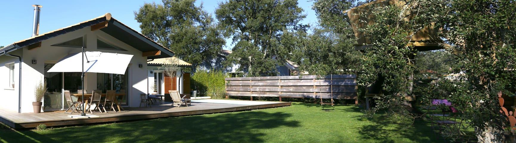 Villa avec piscine chauffée sans vis à vis - Moliets-et-Maa - Отпускное жилье