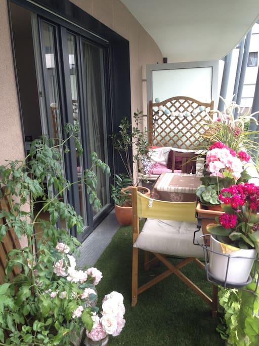 Terrasse - Coin repas (15 m²)