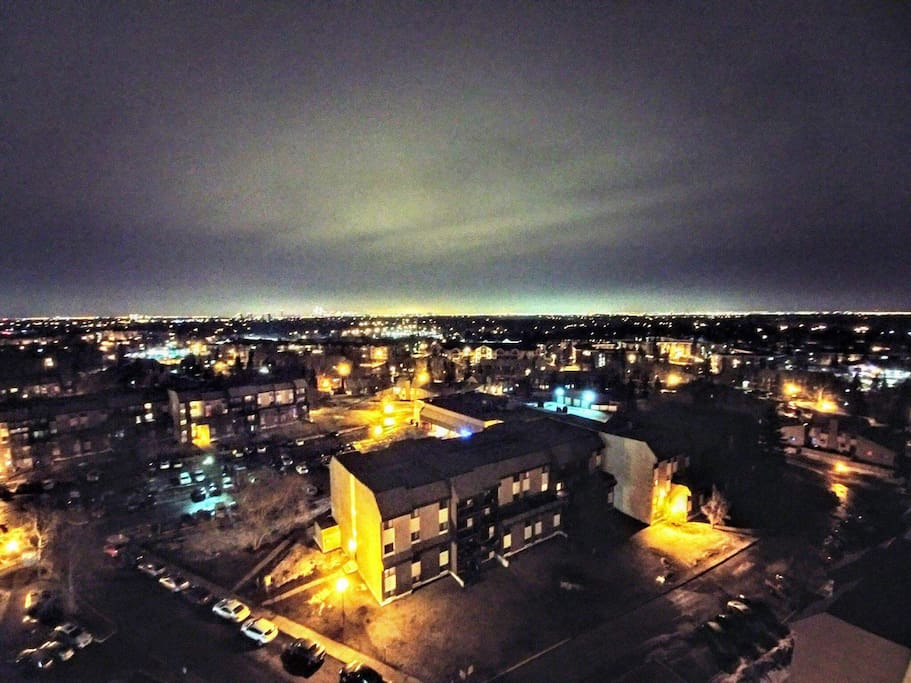Great view at night.