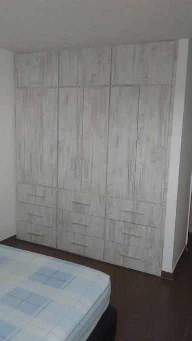 Large closet room.