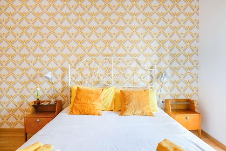 Luminoso Appartamento nel Cuore di Roma