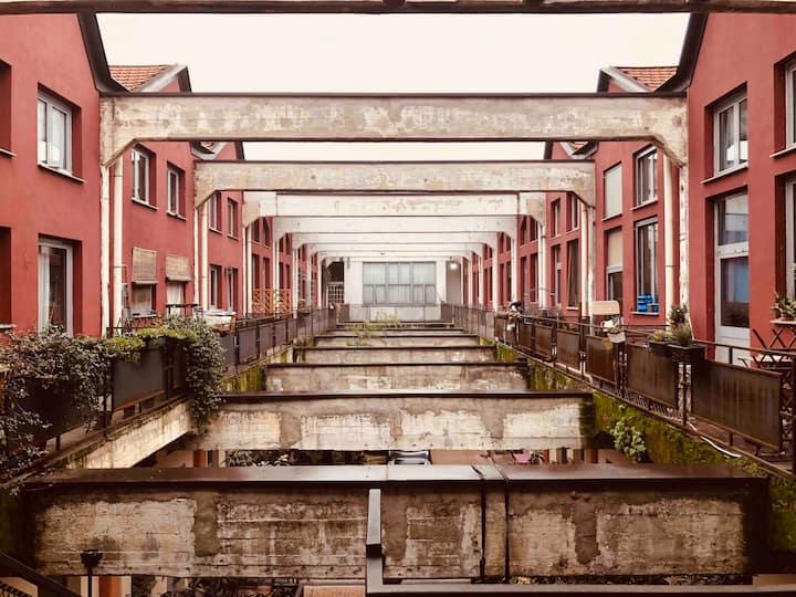 Ampio loft in ex contesto industriale - Ortica