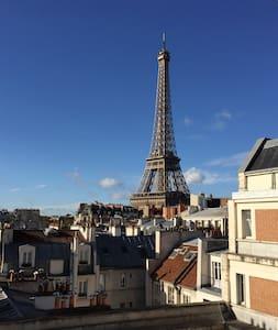 Amazing Eiffel Tower view! - ปารีส - อพาร์ทเมนท์