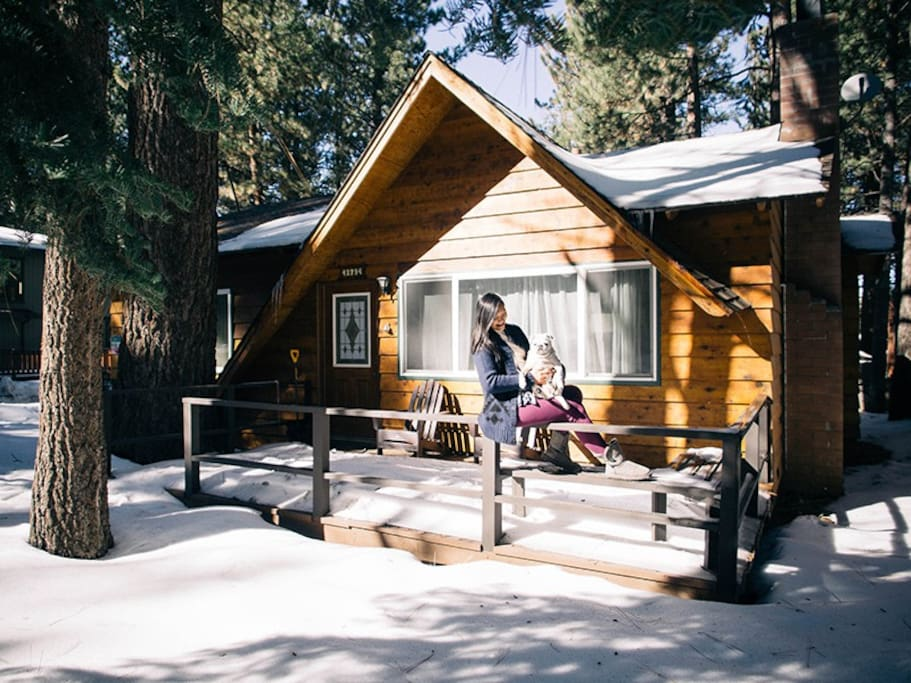 Big bear boarding house christmas special cabins for for Big bear cabins california