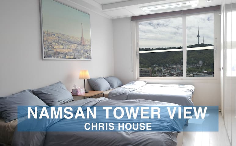 ☆New! high-rise N-Tower view in Center of Seoul☆ - จุง-กู