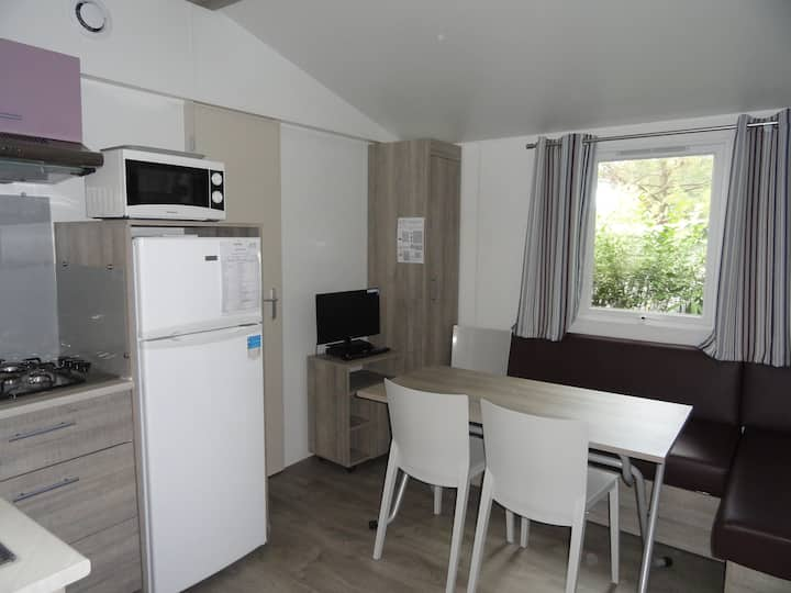 OFFRE SPECIALE TRAVAILLEURS Mobil home 2 ch 2 sdb