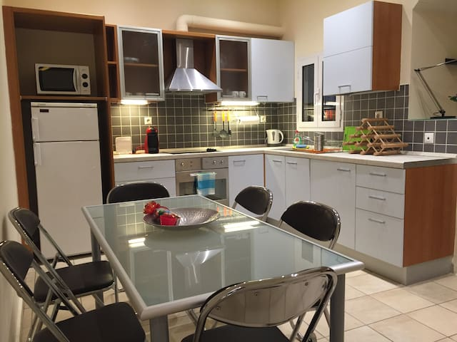 Two bedroom COCO-MAT spacious flat near Achillion - Kerkira - Byt