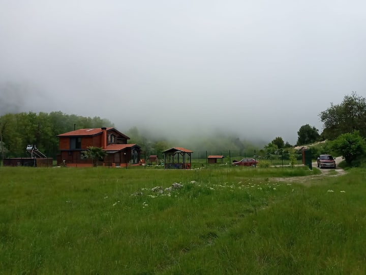 Kas/Sarıbelen -Wooden House in nature (ahsap ev)