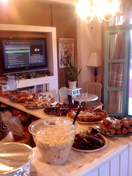 Mostrar en pantalla completa la imagen proporcionada por el anfitrión