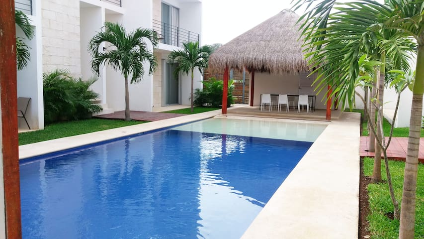 Playa´s perfect vacation! Sun, fun and nature. - Playa del Carmen - Appartement