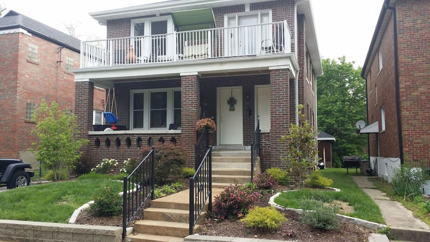 2bd 1ba minutes to downtown StL (1) - University City - Hus