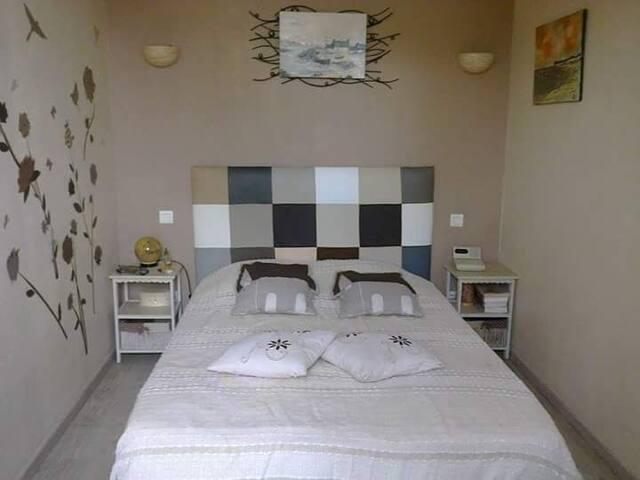 Chez Coco : Chambre + Terrasse privée