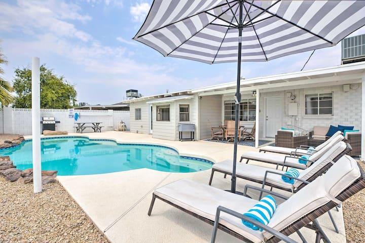 Modern Home w/ Pool < 2 Mi to Old Town Scottsdale!
