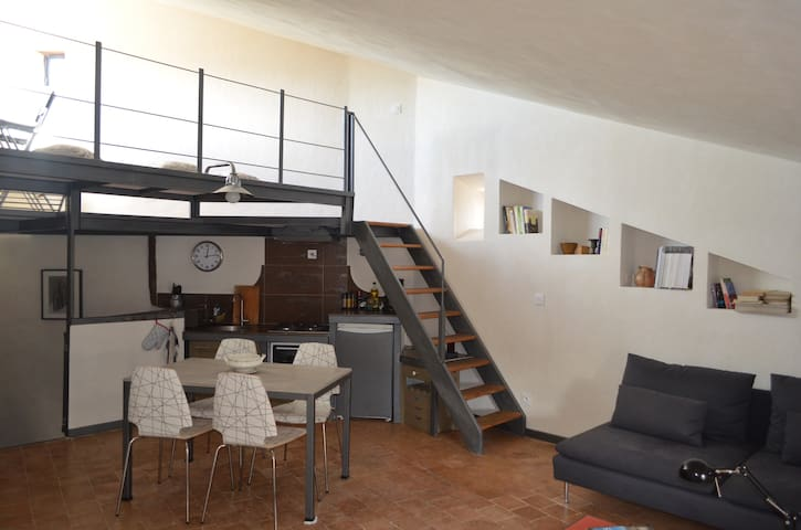 One bedroom center of Lourmarin