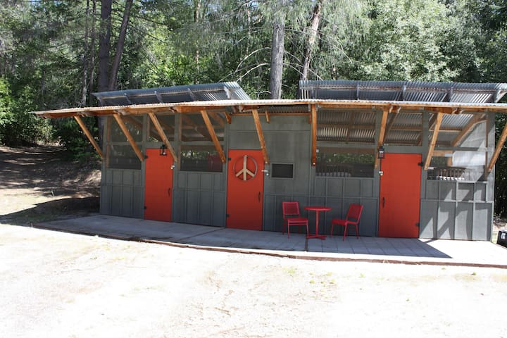 Luxury Camping Cabins at Bullard's Bar