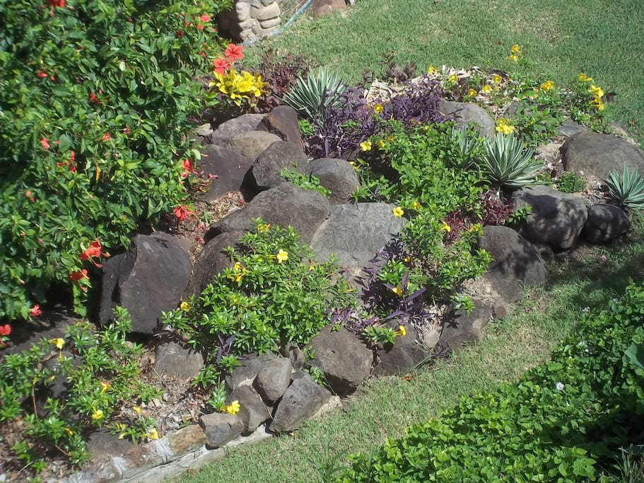 Tranquil Gardens Outside Guest Quarters