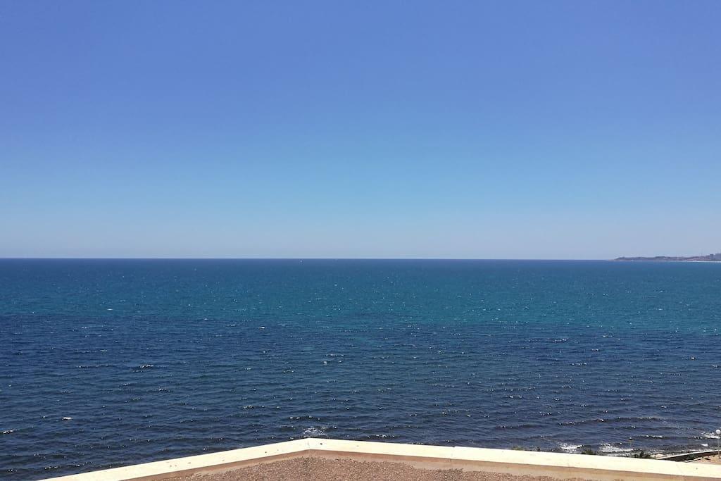 Vista desde el solarium