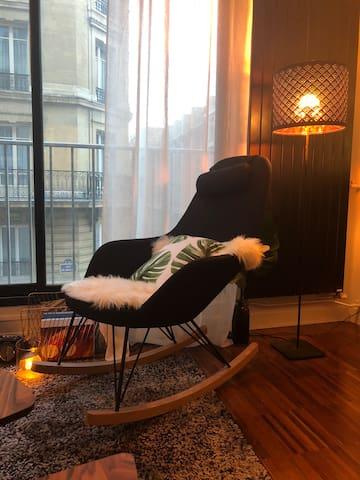 Studio cosy Champs Élysées / Trocadéro