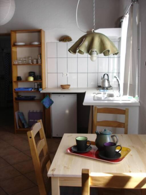 Apartment 5, die Küchenzeile