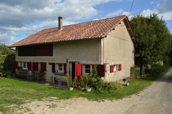 Maison en pleine campagne au calme et d'espace