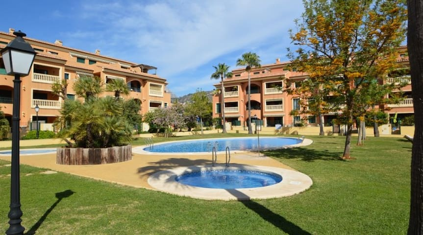 Appartement in beautiful residence near port/beach - Javea - Appartement en résidence