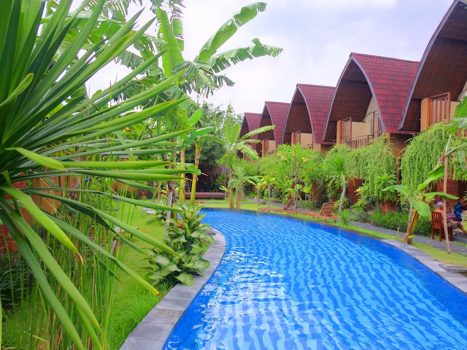 Big and long pool