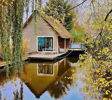 Boathouse + sauna de luxe a prop de Leiden i Amsterdam