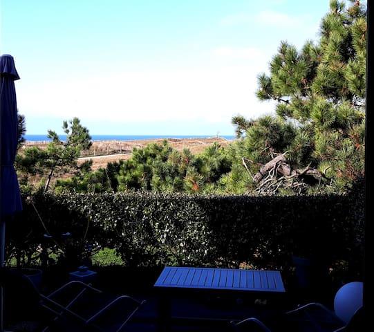 Appartement avec  jardin vue mer et piscine