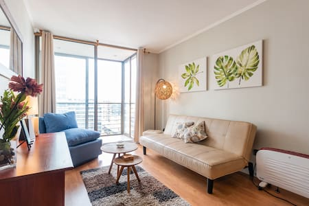 Two bedroom apartment close to subway.