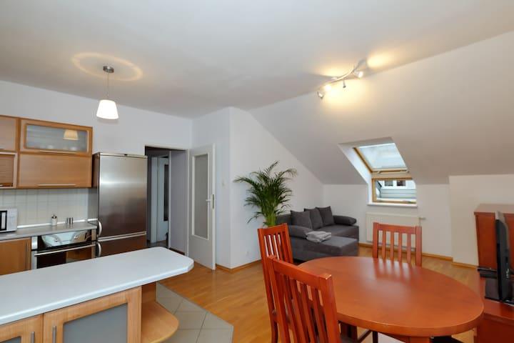 Apartament Słoneczny 2 (faktura VAT) z garażem