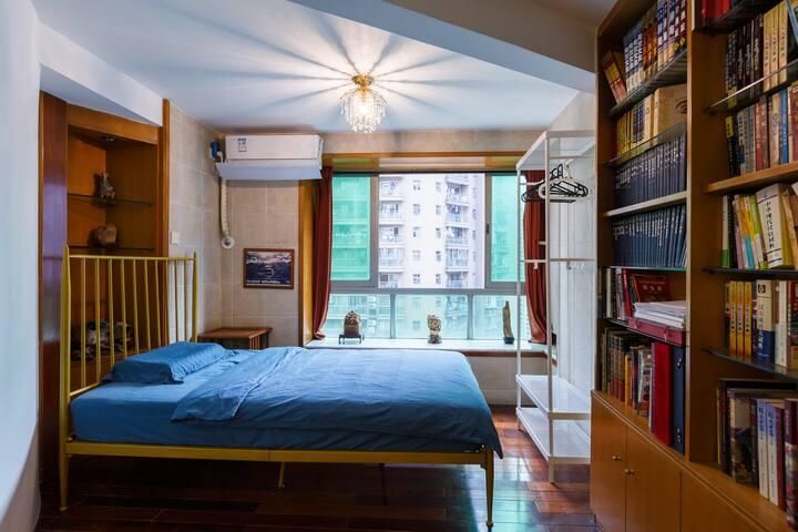 珠江新城 美国领事馆  合租单床房